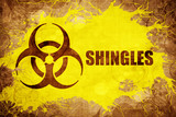 Grunge vintage Shingles