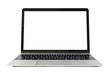 Laptop computer with white screen