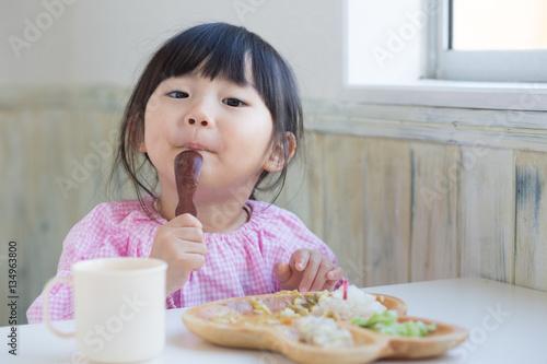 Fototapeta 給食の時間