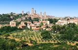 San Gimignano en pays Siennois