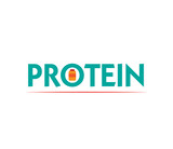 Protein Logo with Bottle