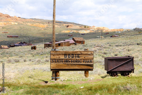 Poster Bodie Ghost Town