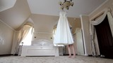 The bride is for the dress - wedding preparation