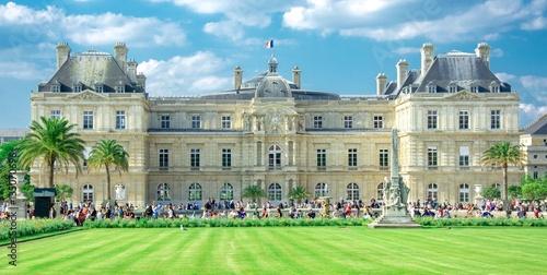 Poster Palais du Luxembourg à Paris, France