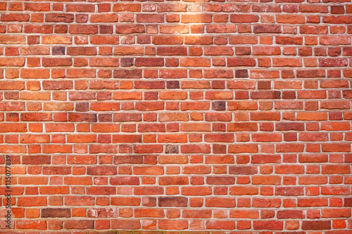 Papiers peints Brick wall Red brick wall texture grunge background