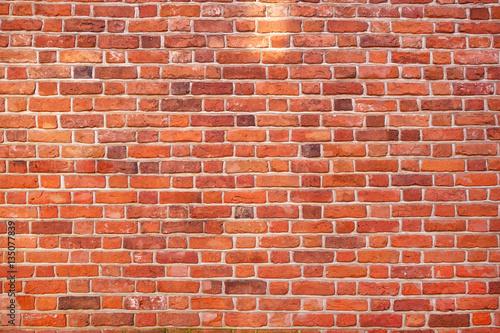 Papiers peints Beton Red brick wall texture grunge background