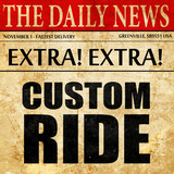 custom ride, newspaper article text