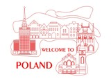 welcome to poland red - 135102890