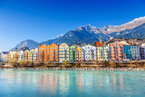 Fototapety Innsbruck cityscape, Austria