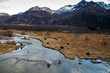 Eagles feeding on Salmon at Kodiak Island Alaska