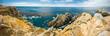 Carmel California.  Point Lobos National Park.  Pinnacle Point panorama.