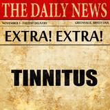 tinnitus, newspaper article text