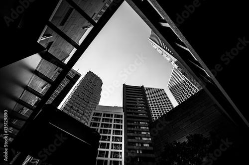 Modern Architecture Black and White - 135129890