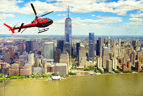 Poster Helicopter tour over Manhattan