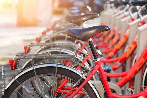 Rowery używane w mieście