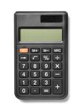 calculator black business office finance