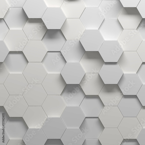 Abstract pattern, 3d illustration - 135162605