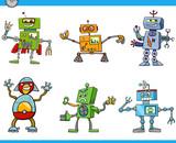 robot cartoon characters