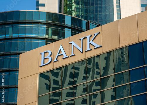 Fototapeta Bank building