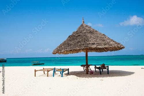beach side of zanzibar