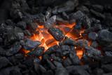 Heated coals - 135247293