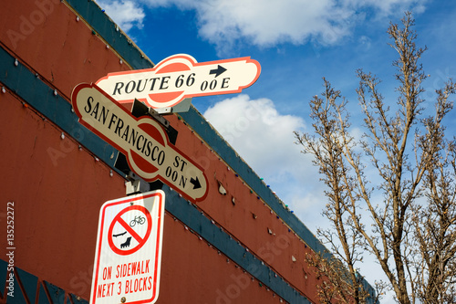 Poster Flagstaff street signs