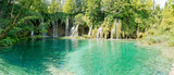 Fototapety Beautiful view in the Plitvice Lakes National Park .Croatia