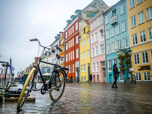 Papiers peints Amsterdam Copenhagen by bike