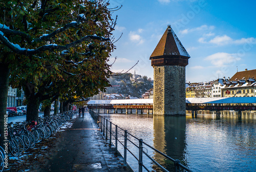 lucerne in winter Poster