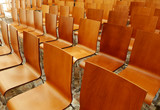 Modern chairs in an auditorium