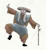 Kabuki character draw