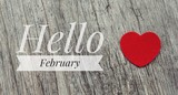 Hello February words...