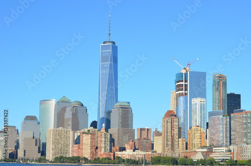 Manhattan skyline, NYC, USA. Poster