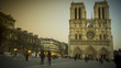 Cathedrale Notre Dame de Paris is a most famous cathedral  on the eastern half of the Cite Island