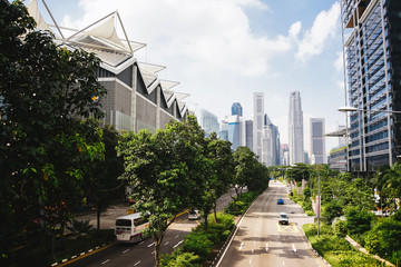 Green city of the future.