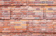 Old red brick wall, decorative pattern