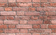 Red brick wall, seamless background