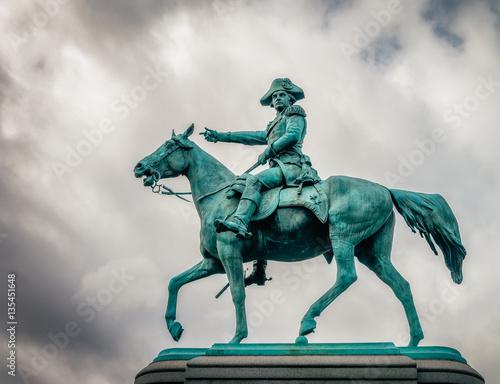 Poster Statue of Nathanael Greene, Washington DC, USA