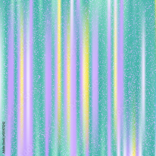 Obraz Turquoise background with purple and yellow stripes. Abstract colorful vector background