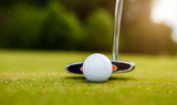 Golf equipment, golf ball and stick