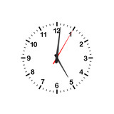 Simple Vector Kitchen Clock - 135486277