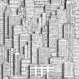 City landmark. Hand-drawn background. - 135487213