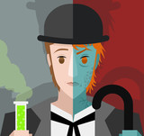 doctor jekyll and mister hyde bipolar transformation