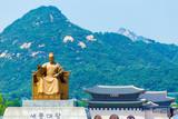 Seoul King Sae Jong Dae Statue Gyeongbokgung