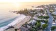 Beautiful Laguna Beach, Orange County during Sunset - 135528693