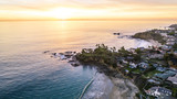 Beautiful Laguna Beach, Orange County Sunset - 135528833