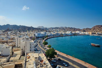 muscat panoramic view