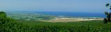 Grecja, Litochoro, Morze Egejskie [panorama].