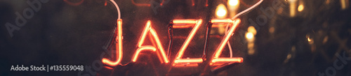 Orange neon light sign