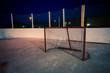 outdoor rink hockey net